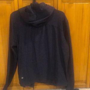Lululemon hooded cardigan